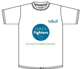 T-shirt FIRES fighters Paratonnerre